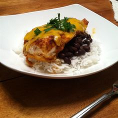 """Salsa Chicken I """"What a meal! With the Spanish Rice and corn this was a meal I will prepare many times in the future. Fast and easy. Oh yes and good."""""""