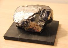 Our treasure  Extremely rare unique noble 285 gr Shungite stone   If you trully value the oldest stones with greatest energy of many centures and epochs this is the best option  #Shungite #eliteshungite #nobleshungite #shungitestone #rarestone #healingminerals #healingcrystals #shungitepierre #uniqueminerals #uniquestones