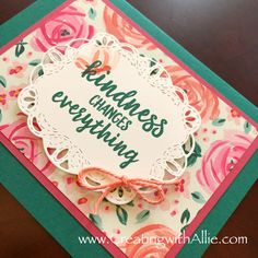 Three quick and easy cards using Abstract Impressions - FB live June 2018 Send A Card, Thank You Cards, Diy Paper, Paper Crafts, Stampin Up Catalog, Friendship Cards, Heartfelt Creations, Greeting Cards Handmade, Homemade Cards