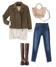 Black Friday Outfit (hate jacket and purse...love everything else!)