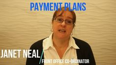 https://youtu.be/BDwtnQcLEOA  This time, we have a video featuring the lovely Janet! In this episode, Janet talks about Payment Plans.