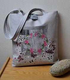 Romantická taška-obojstranná / HerAn - SAShE.sk - Handmade Veľké tašky