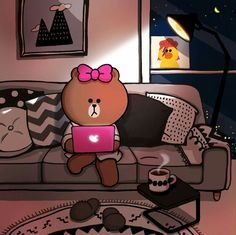 cony line friends