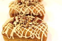 Mmm... Pumpkin Pecan Friendship Bread - would be lovely for Fall! The icing looks like a delicate lace doily :)