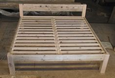 beds made to order from recycled wood