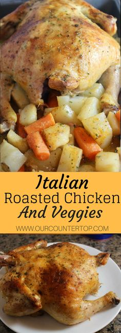 Italian Roasted Chicken & Vegetables