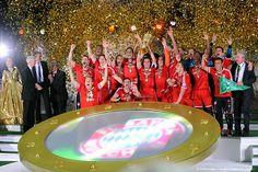 Bayern de Munique - campeão da Copa da Alemanha 2013.