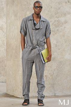 Grey Jumpsuit! Monsieur Jerome