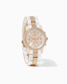 charming charlie | Thalia Two-Toned Watch | UPC: 410006013063 #charmingcharlie