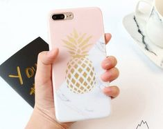 Ollivan 6 s Gold Pineapple Marble case for iphone case silicone soft TPU back cover for iphone 6 plus fundas coque capas Iphone 7 Plus, Iphone 8, Coque Iphone, Iphone Cases, Apple Iphone, Knitting Patterns, Sewing Patterns, Crochet Patterns, Instagram Gallery