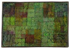 Paul Klee  'Gemusegarten' (Kitchen Garden)  1925