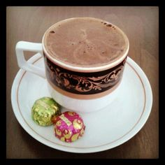 #gununkahvesi #coffeeoftheday #turkishcoffee #chocolate