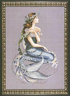 GOT - Enchanted Mermaid - Mirabilia Cross Stitch Pattern