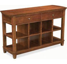 Leather Sofa Thomasville Bridges sofa table u Finish Newbridge dollars u drawers u