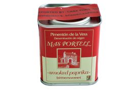 Bittersweet Pimenton de la Vera (Smoked Paprika)  By Mas Portell