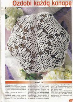 Patterns and motifs: Crocheted motif no. 147