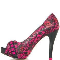 Muerte Punk Princess - Red  JustFab $59.99