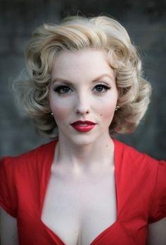 9. The Marilyn - 33 Ravishing Retro Hairstyles ... → Hair
