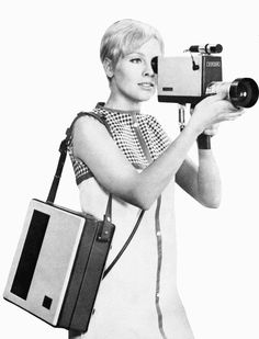 The Sony Portapak, the first portable video recording system, hit the market in 1967. Prior to its release, most television footage was shot (most often in a studio) with large static cameras on 16mm film. Not only did that Portapak allow television to hit the streets, it ushered in the era of accessible consumer video.
