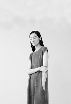 "Fei Fei Sun in ""A Matter Of Length"" by Willy Vanderperre for Vogue China, September 2014."