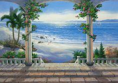 Trompe L'Oeil Wall Murals   alexis da aussie 14 weeks ago trompe l oeil wall mural