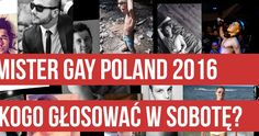 VOTE FOR KAMIL FOR MISTER GAY POLAND!!! :D
