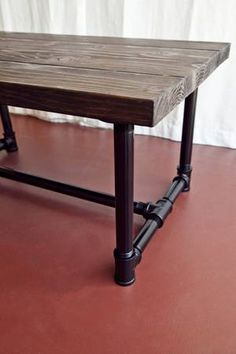 Handmade Wood and galvanized pipe coffee table - $275 (Venice) & 399 best skill... images on Pinterest | Iron Printed circuit board ...