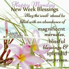 Monday Morning Blessing, Good Morning Happy Monday, Monday Morning Quotes, Happy Monday Quotes, Good Morning Good Night, Good Morning Wishes, Friday Morning, Happy Tuesday, Happy Weekend