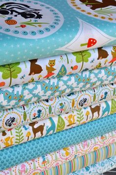 Riley Blake fabric...and others with amazing fabrics and AMAZING patterns!