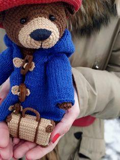 """Paddington Bear 16/""""Soft Toy w// suitcase"""