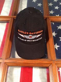 8ac5e99d602 1903-2003 HARLEY DAVIDSON MOTORCYCLES 100th ANNIVERSARY Hat Usa FREE  SHIPPING Harley Davidson Motorcycles