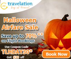 Celebrate Halloween! Take up to $30 off with Coupon Code TLHDAY30 Book Now!