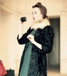 Coat, dress, and colors. ❤