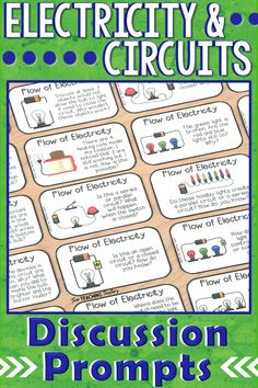 Electrical Circuits and the Flow of Electricity Science Vocabulary, Science Standards, Science Curriculum, Science Resources, Teaching Science, Science Activities, Science Fun, Science Ideas, Science Lessons