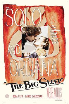 Stars Wars Fett Noir Series 1 The Big Sleep by GraphicLanguage on Etsy, $25.00