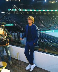 Beautiful Boys, Beautiful People, Atp Tennis, Alexander Zverev, The Prince Of Tennis, Us Open, Relationship Goals Pictures, Rafael Nadal, Roger Federer