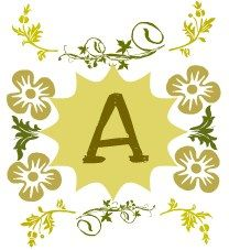 Get my golden vintage monograms @ http://s1299.photobucket.com/user/TinaElsa/slideshow/Monograms