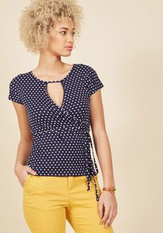 A Certain Surplice Top in 8 (UK), #ModCloth