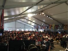 Last Where's Waldo photo of the year. Can you spot your favorite driver at @HomesteadMiami pre-race meeting? #NASCAR