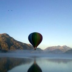 Hey, Kath! This one's for you! Ballooning in New Zealand