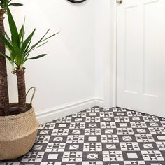 YOUR HOME AWARDS BEST TILE COLLECTION 2018Made from ceramic, the 331x331mm Retro tile features a bold geometric pattern in a modern monochrome colour palette to look not only incredibly striking underfoot but also on the wall. highly versatile, the tile can be used to create a traditional, vintage design scheme oozing rustic charm by coordinating with distressed furniture, or can be given a more vibrant appearance when teamed with bold pops of colour and sleek, minimal accessories.