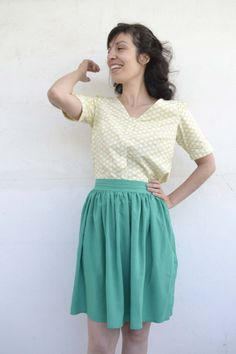 Skater Skirt, Midi Skirt, Posts, Skirts, Blog, Vintage, Style, Fashion, Moda