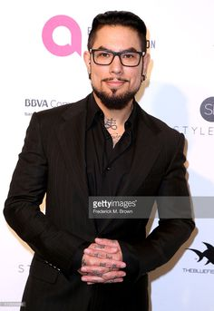Dave Navarro attends the 24th Annual Elton John AIDS Foundation's Oscar Viewing Party on February 28, 2016 in West Hollywood, California. Photo by Frederick M Brown.