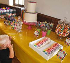 Arts & Crafts Birthday Party Ideas | Photo 19 of 56 | Catch My Party