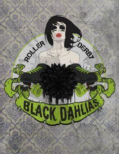 Black Dahlias roller derby