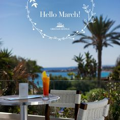 Springtime is just around the corner – and the time is right to relaunch all the sunshine, the joy, the desire for a Grecian getaway. So let the beauty begin. Hello March! . . . . . #GrecianSands #GrecianHotels #Cyprus #Summer #SummerVacation #SummerVibes #Beach #BeachLife #Sea #ViewGoals Sands Hotel, Hotel S, Grecian Sands, Hello March, Mediterranean Sea, Cyprus, Spring Time, Summer Vibes, Sunshine