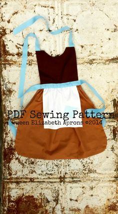 Maid CINDERELLA PDF Sewing PATTERN. Disney by QueenElizabethAprons