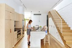 High House is the end product of a significant renovation to a five-metre wide inner city terrace. Only the original front two rooms were retained, the new addition meeting the requirements of a young couple that, planning a family, were intent on...