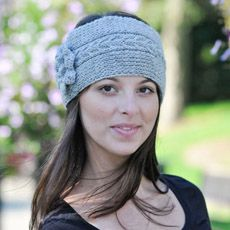 cabled headband...free pattern