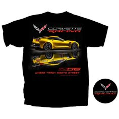 Shop Lingenfelter - Track Meets Street Tee - #CorvetteRacing #Corvette #Lingenfelter (260) 724-2552